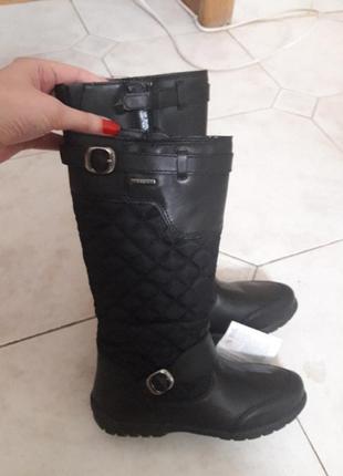 Кожаные сапоги geox 30. размер