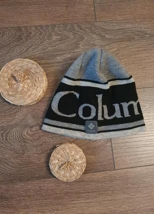 Крутая тёплая шапка на  флисе мужскя/женская  columbia o/s оригинал