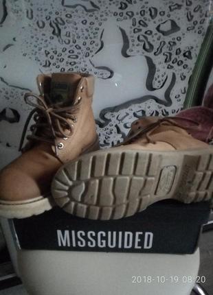 Крутые неубиваемые ботинки из небука kasogi