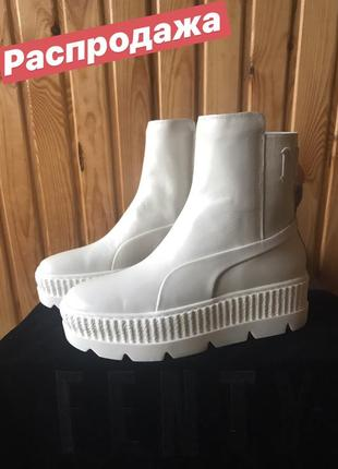 Огигинал new puma fenty by rihanna chelsea sneaker womens boots женские ботинки челси