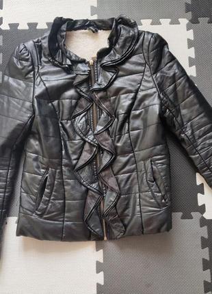 Куртка (курточка, кожанка)