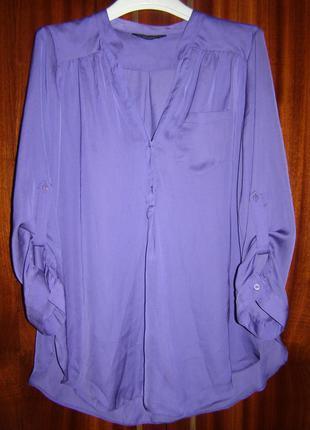 Фиолетовая блуза dorothy perkins