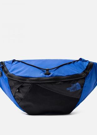 Оригинальная сумка на пояс the north face lumbnical s blue/black