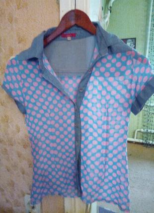 Рубашка шифонова