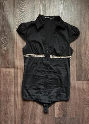 Шикарная блузка боди, комбидресс