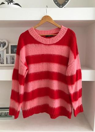 Яркий стильный свитер oversize от george