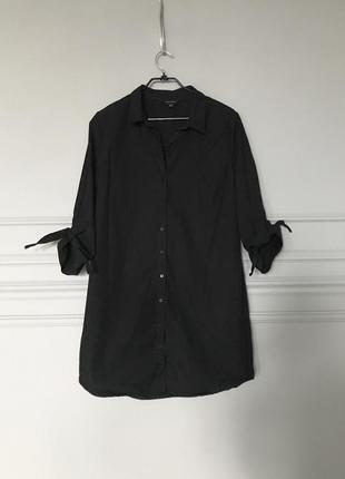 Платье-рубашка оверсайз new look