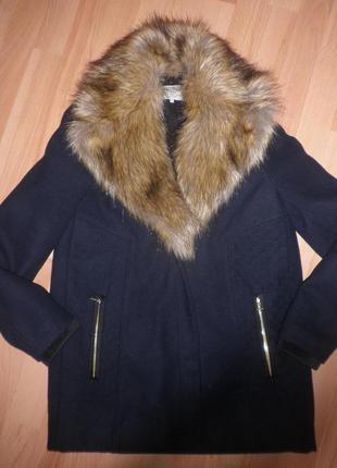 Суперське утеплене синтепоном   пальто- бойфренд від зара1