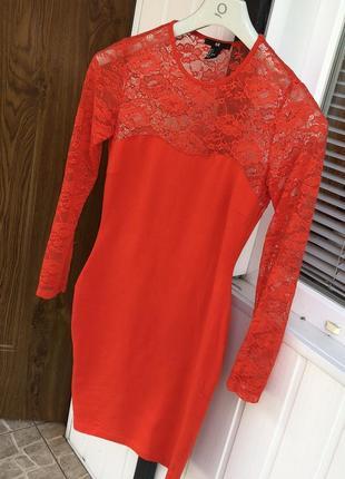 Платье с кружевом италия сукня з мереживом h&m asos