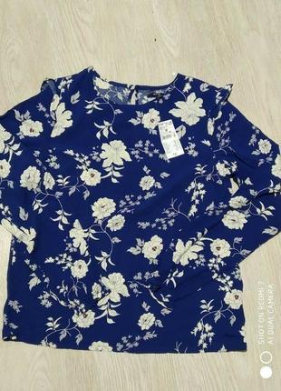 Красивая блузка для девушки от французского бренда kiabi. р.м - 164/170