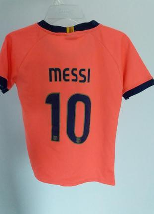 Футбольная футболка месси2 фото