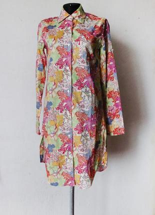 Платье рубашка оверсайз 0039 italy