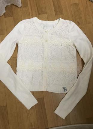 Кофта свитер abercrombie