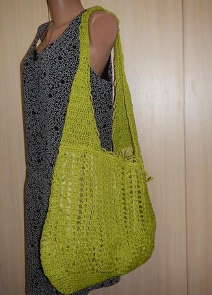 Пляжная сумка из соломки cappelli
