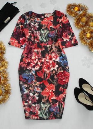 Мегаскидки, распродажа, большой выбор...красивое цветочное платье от papaya 16uk