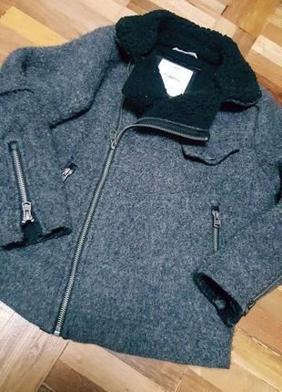 Шикарное модное пальто zara