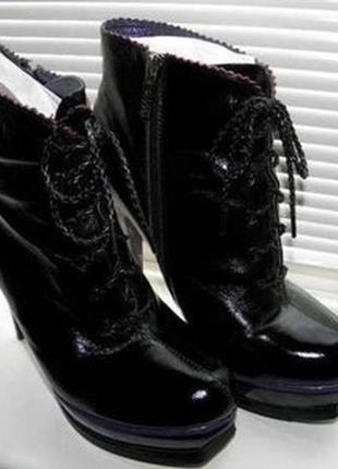 Ботильоны, ботинки glossi