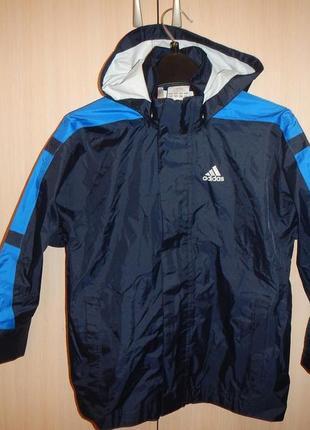Куртка дождевик adidas 116-122см
