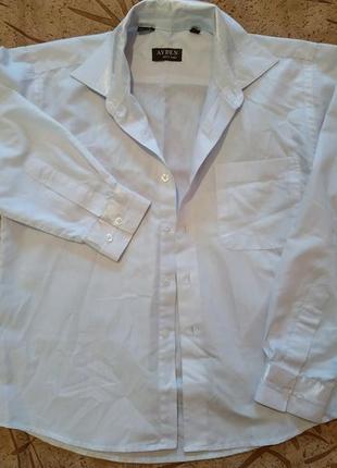 Белая рубашка + майка