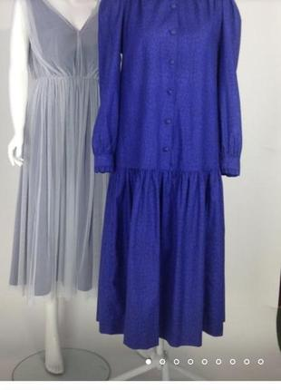 Винтажное платье laura ashley.бунтарская женственность8 фото