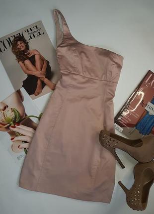 Платье пудрового цвета zara