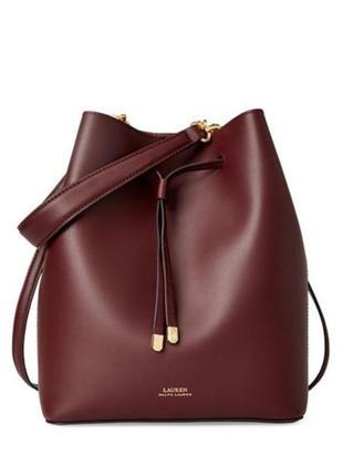 Кожаная сумка polo ralph lauren