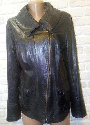 Куртка,кожанка,косуха! 100% натуральная мягчайшая кожа!