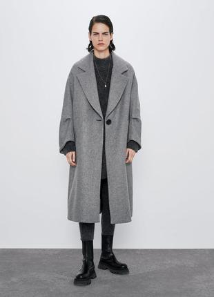 Пальто новая коллекция zara