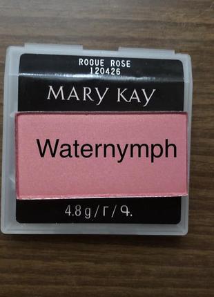 Румяна chromafusion, тон дерзкая роза rogue rose (мерцающие) от mary kay