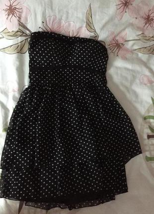 Платье в горошек tally weijl