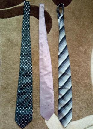 Продам 3 галстука одним лотом