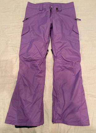 Утепленные горнолыжные брюки volcom