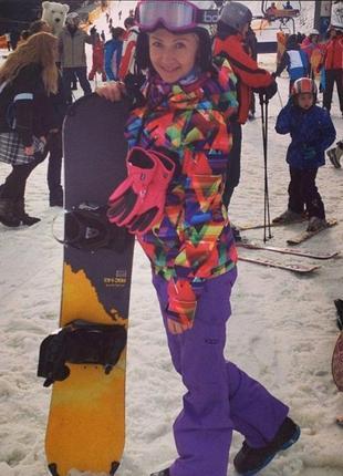 Утепленная горнолыжная куртка gsou snow