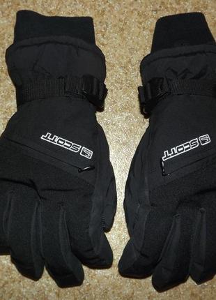 Горнолыжные перчатки scott