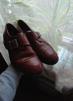 Туфли кожаные мужские lloyd