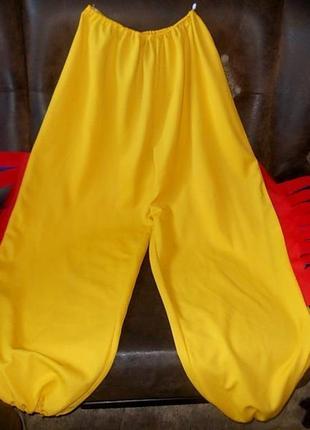 Брюки штаны для костюма петушка 60 размера