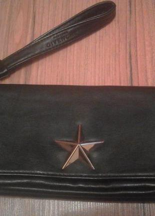 Клатч givenchy с звездами