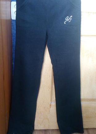 Спортивные штаны утепленные р.xs-s