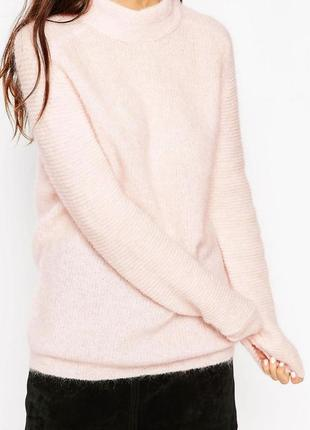 Мохеровый очень теплый свитер asos