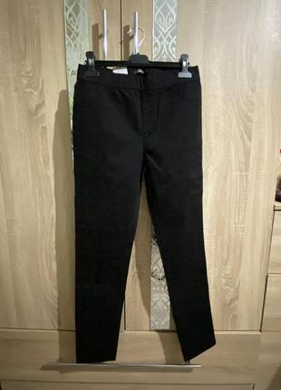 Базовые черные джегеннсы, повседневные черные штаны,актуальные черные джегенсы м,л,хл.2 фото