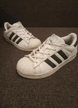 Кроссовки adidas superstar р.35 кеды кросівки