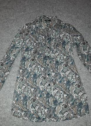 Красивая туника- рубашка