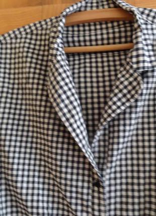 Блузка -рубашка . большой размер.