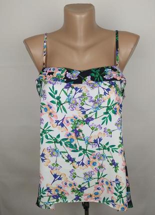 Блуза модная цветочная warehoue uk 10/38/s