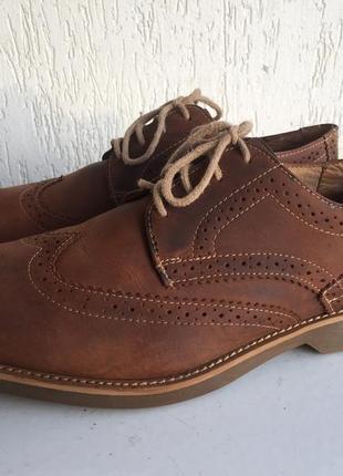 Кожаные ортопедические туфли 42 р.