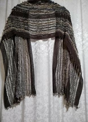 Ажурный шарф 35х180