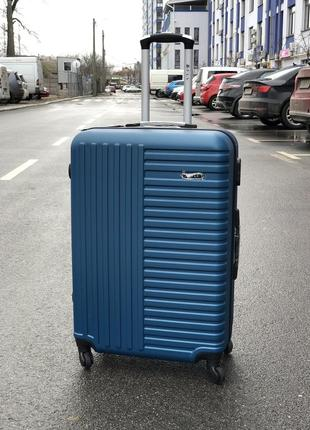Акция! большой чемодан пластиковый киев / валіза пластикова велика