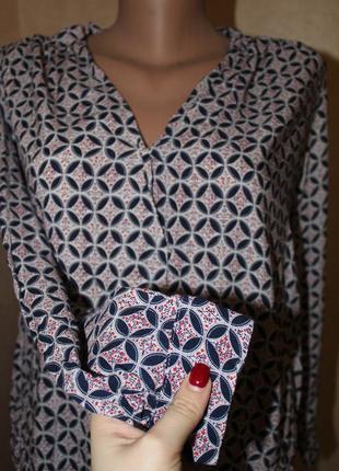 Блуза на запах, от chicoree, длинный рукав