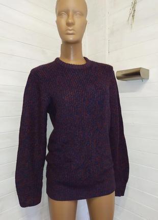 Супер классный меланжевый свитер
