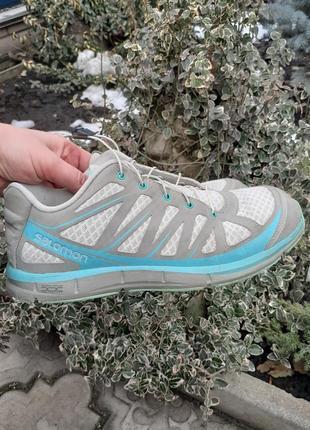 Оригинальные кроссовки salomon 25 см стелька